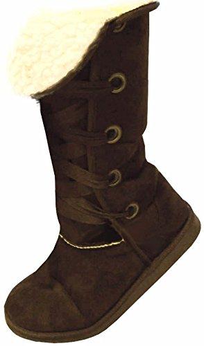 RTB Damen Warm Pelz Gefüttert Knie High Snug Nomad Boots in 5 Farben c0627ec4c5a