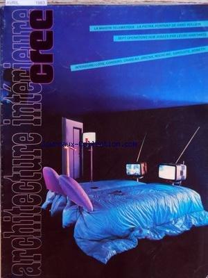 ARCHITECTURE INTERIEURE CREE [No 194] du 01/04/1983