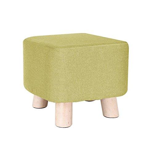 Xuan - Worth Having Tabouret Vert définit Woody Tabouret à Quatre Pattes Tabouret Bas créatif Tabouret canapé Enfant (29 * 29 * 28cm)