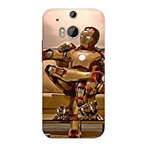 Neo World Stylish Man Back Case Cover for HTC One M8