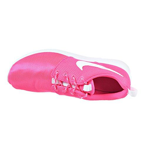 Iper Rosa Run Roshe Nike Ginnastica Scarpe Ragazza Bianco Da fx0YxqzCw