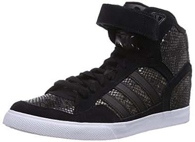 adidas Extaball Up, Baskets Femme - Noir (Core Black/Core Black/FTWR White), 42.66 EU
