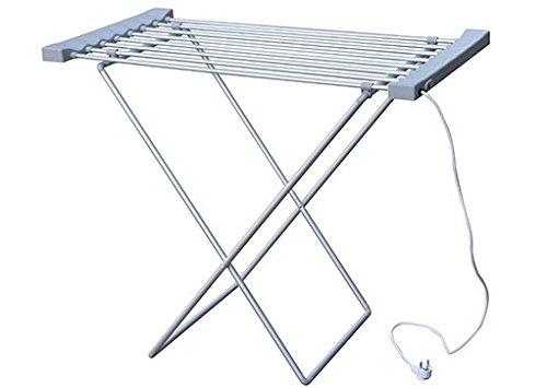 Prixton Tendedero Eléctrico, Aluminio, Blanco, 95x52x5.5 cm