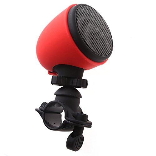 Preisvergleich Produktbild Sonlipo drahtlose Bluetooth Lautsprecher-Stereo-Musik für iPhone 6 Samsung Note 4 LG 3.0 Integriertes Mikrofon Sport im Freien Fahrrad / Kinderwagen / Motorroller / Rollstuhl Rot