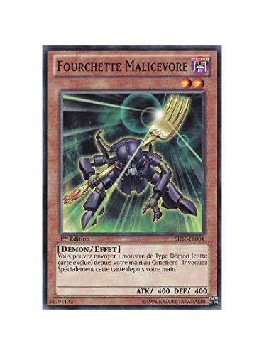 carte Yu-Gi-Oh SHSP-FR004 Fourchette Malicevore