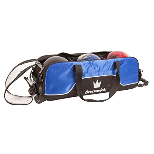 Brunswick Crown Triple Tote Keine Tasche Bowling Bag, Royal