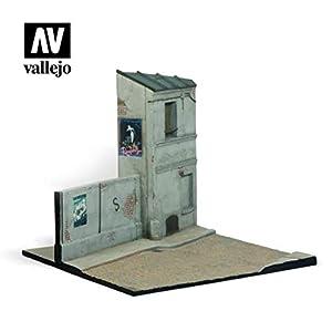 Vallejo SC108 1/35 Juego de construcción de maquetas por Carreteras francesas, Diferentes