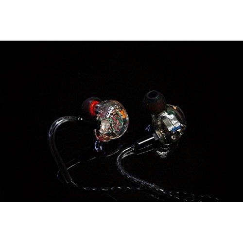 Erbe Audio klar 8. AI in-Ear Monitor Kopfhörer handgefertigt (Abnehmbare Kabel)