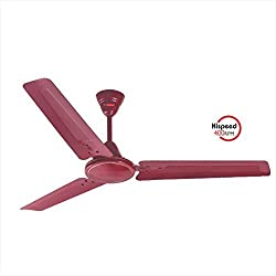 JANAKI RACER 1200mm Sweep 75-Watt Ceiling Fan (Purple,Pack of 2)