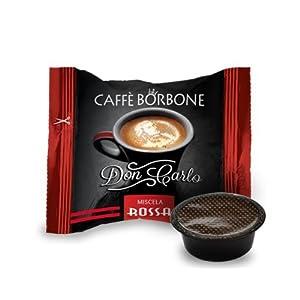 500 capsule caffè Borbone compatibili a modo mio miscela rossa 15