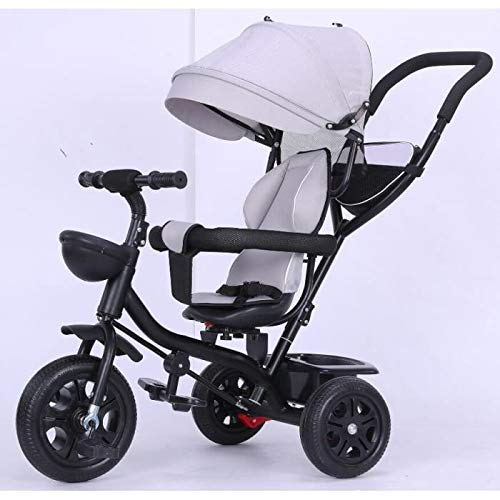 TEENO Tricycle Enfant/bébé Evolutif Mixte - Poussette...
