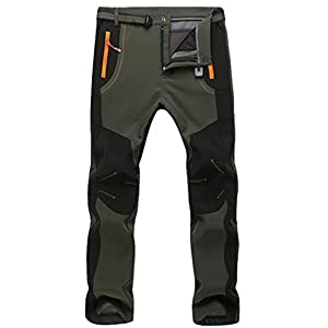 41x%2BfQqO3 L. SS300  - Micosuza Hiking Trousers Men Waterproof Zip Off Walking Long Length Pants Breathable Lightweight