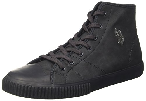 U.S.POLO ASSN. Herren Samir High-Top, Blu (Dark Blue), 45 EU (Freizeitschuhe Polo)