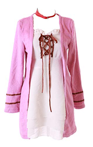 Kawaii Kostüm - Kawaii-Story MN-89 K Neko 4-TLG. Set Kleid weiß pink Jacke Cosplay Kostüm Anime Manga