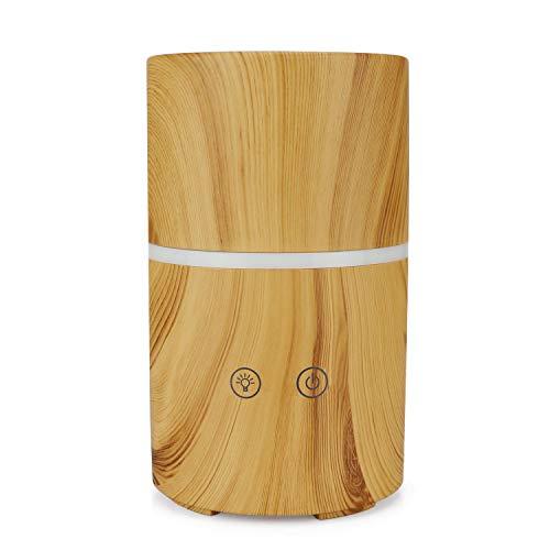 XIAOKUKU Kalter Nebel-Luftbefeuchter, Diffusor, Aromatherapie-Lautsprecher bunten Nachtlicht-Design, Wassermangel Schutz, geeignet für Schlafzimmer Büro Feriengeschenk.
