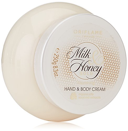 Oriflame Milk and Honey Gold Nourishing Hand and Body Cream, 250g