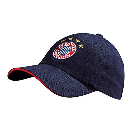 FC Bayern München Logo Snapback Cap (navy) (Hut Navy Fußball)