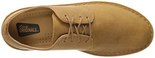Clarks Desert London Oxford Shoe Mustard