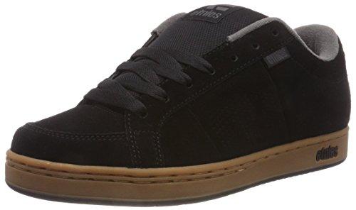 Dark Gum Schuhe (Etnies Herren Kingpin Skateboardschuhe, Schwarz (Black/Gum/Dark Grey 966), 41.5 EU)