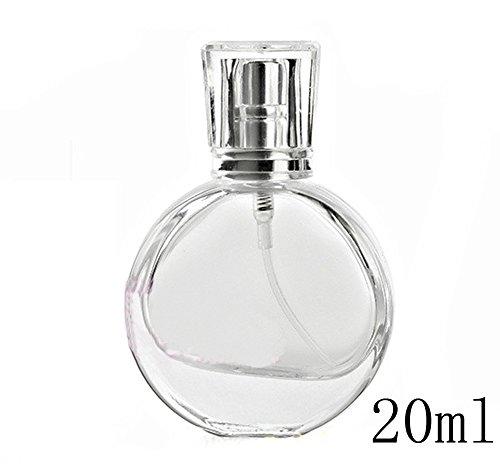 20ml, Vetro trasparente Spray Bottiglia di profumo vuota atomizzatore