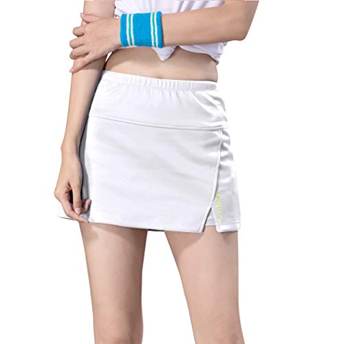Yoyekes Miqieer Damen Golf Skort Tennis Laufrock mit Shorts Innensport Laufen Tennis Golf Workout Casual Gym - - Mittel -