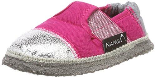 Nanga Mädchen Superstar Hausschuhe, Pink (Himbeere), 28 EU