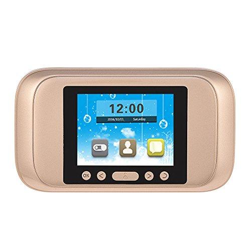 Richer-R Digitaler Türspion, Smart Digital Bewegungserkennung 3,2 Zoll HD LCD Display Türviewer,720P HD Video 160 ° Sichtwinkel Überwachungskamera Nachtsicht für Türstärke 40-110mm - Digitale Lcd-video