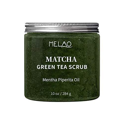 TRENTA Peeling-Körperpeeling Grüner Tee Meersalz-Körperpeeling mit Cellulite-Entferner für Body Peace und Glow-250g - Meersalz-fußpeeling