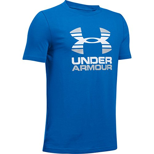 Under Armour Boys' UA Two Tone Logo T-Shirt Image