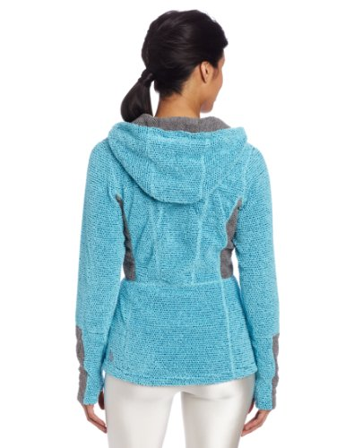 Hot Chillys Damen Pico Fleece Full Zip Hoodie Surf