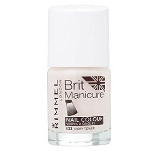 Rimmel – Esmalte de uñas Brit Manicure Ivory Tower 433 (34788797433)