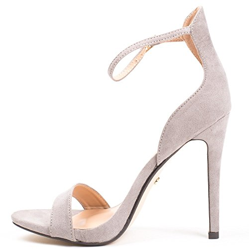 Ideal Shoes ,  Sandali donna Grigio