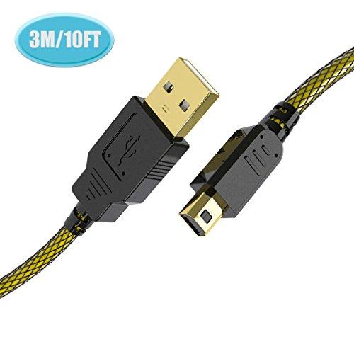 6amLifestyle 3M USB Ladekabel Kabel Cable für Nintendo 2DS 3DS 3DS XL DSi DSi XL