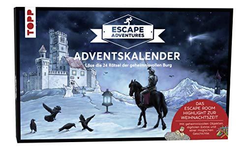 Adventskalender Escape Adventures 2019: Löse die 24 Rätsel der geheimnisvollen Burg. Mit geheimnisvollen Objekten, digitalen Extras und einer magischen Geschichte