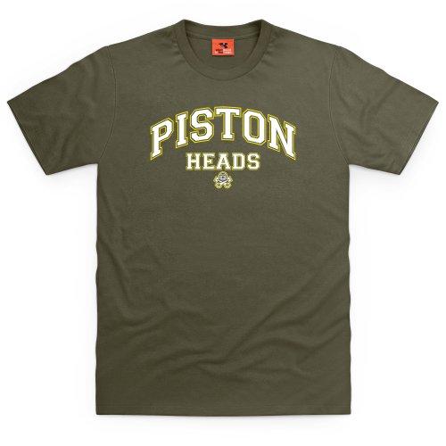 PistonHeads Star T-Shirt, Herren Olivgrn