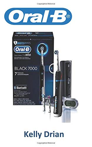 Oral-B: Oral-B 7000 SmartSeries Rechargeable Power Electric Toothbrush with 3 Replacement Brush Heads, Bluetooth Connectivity and Travel Case, Black, Powered by Braun - 7000 Oral-b Braun