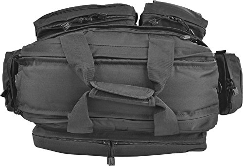Security Einsatztasche mit vielen verschiedenen Fächern und Laptopfach aus Cordura Black