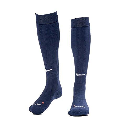 Nike Unisex Classic Dri-Fit- Smlx Fußballsocken Fußballsocken Knee High Classic Football Dri Fit, Blau (Mitternacht Marine blau), M (Marine-blau-spiel)