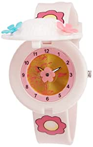Zoop Analog Gold Dial Children's Watch -NKC4032PP01