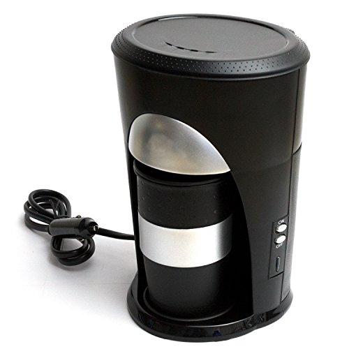 Kaffeepadmaschine mit Kaffeebecher 24V / 300W - Anschluß Zigarettenanzünder - Reisekaffeemaschine...