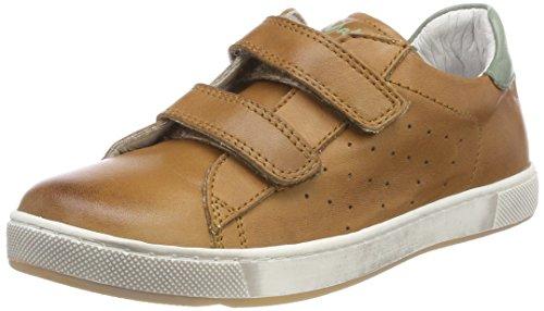 Naturino Jungen 5260 VL Sneaker, Braun (Cognac-Stone), 28 EU