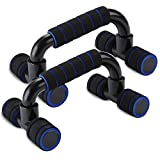 Timoston Liegestützgriffe fest Rutschfest Push Up Bars Stand kettler Liegestütze Set mit ergonomischen Griffe Zubehör für Fitness und Krafttraining der Brust