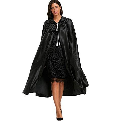 Veyikdg women dress Capa Capucha Halloween, Unisex