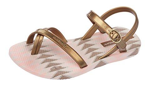 Sandales Enfant Ipanema Fashion Sand IV Beige et Doré gold