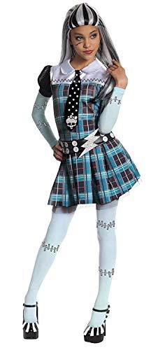 Rubies 3 884786 L - Frankie Stein Kind Kostüm, Large - 8/10 Jahre - (Mädchen Kostüm Monster High)
