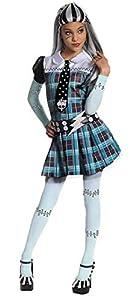 Monster High - Disfraz de Frankie Stein para niña, infantil 3-4 años (Rubie