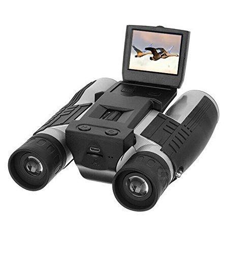 """antalla LCD HD 2"""" de ensueño, cámara digital prismáticos 12 x 325MP, grabadora de vídeo y foto cámara digital telescopio para observar pájaros, juego de fútbol, concierto"""