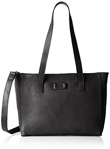 Spikes & Sparrow - Zip Bag, Borse a spalla Donna Nero (Black)