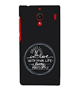 EPICCASE Be in Love Mobile Back Case Cover For Xiaomi RedMi 1S (Designer Case)