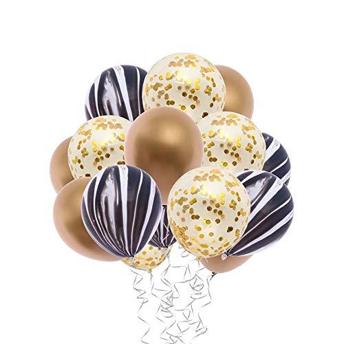 LBZDR Ballon 12 Zoll Metall Pailletten Ballon Set Weihnachtsdekoration Partei liefert Dekorationen Hochzeit Geburtstag Weihnachten Baby Bad Feier gift30pcs, ()